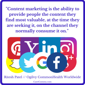 Medical Marketing with Content Marketing